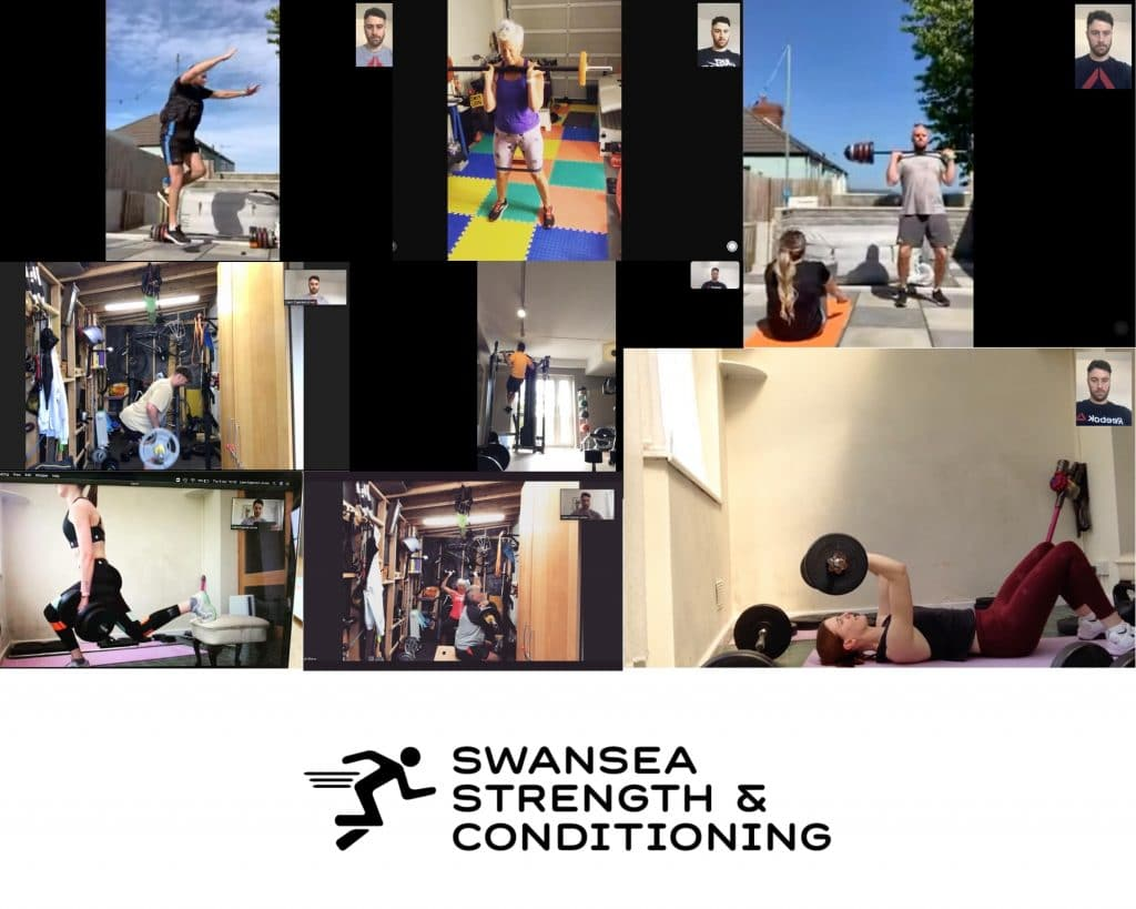 Online Personal Trainer Swansea Live Streaming Sessions with Clients
