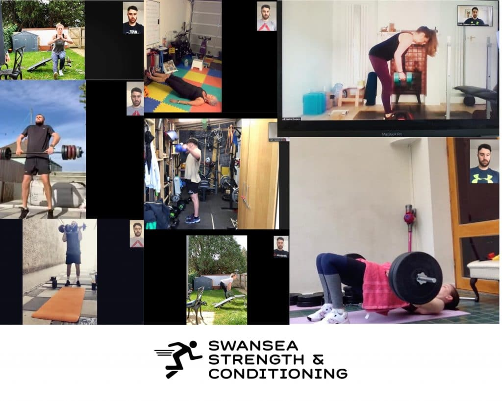 Personal Trainer Swansea delivering Specialist live online 1-1 sessions